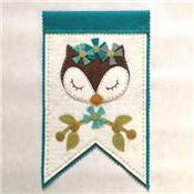 KIT FEUTRINE ANIMAUX DE LA FORET SLEEPY - THE CINNAMON PATCH