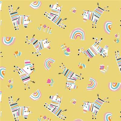TISSU DASHWOOD STUDIO - RAINBOW FRIENDS 1792 - COTON - 110CM