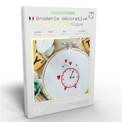 FRENCH KITS - BRODERIE DÉCORATIVE - REVEIL MYTHIQUE