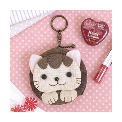 KIT OLYMPUS ETUI PORTE-CLES CHAT
