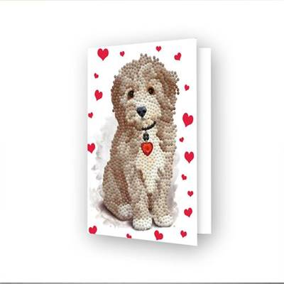 CARTE DE VOEUX DIAMOND DOTZ - LOVELY BOY