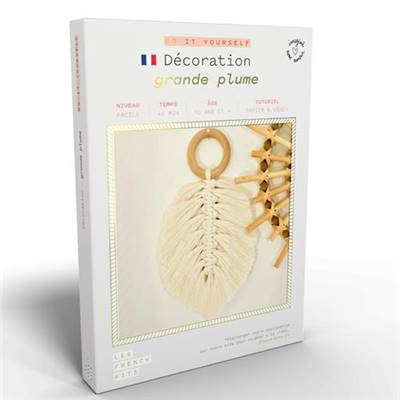 FRENCH'KITS - DIY - DÉCORATIONS - GRANDE PLUME