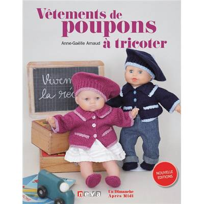 VETEMENTS DE POUPONS A TRICOTER