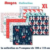 BUNDLE XL- 8 COUPONS ASS. 100 X 110 CM DASHWOOD STUDIO - SKOGEN