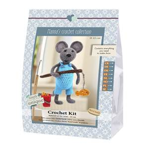 KIT CROCHET EMILY & FRIENDS COLLECTION - ARNO - 19 CM