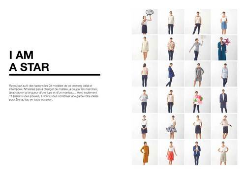Dressing ideal vetements a coudre i am patterns - Livre dressing ideal ...