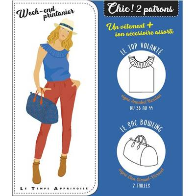 CHIC ! 2 PATRONS - WEEK-END PRINTANIER