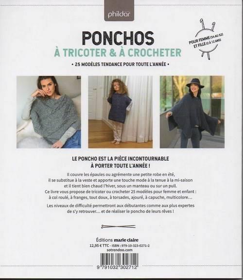 Ponchos A Tricoter A Crocheter 25 Modeles Tendances