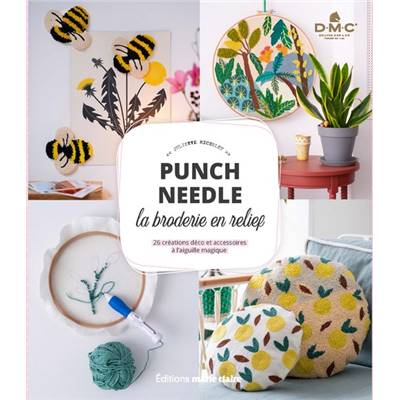 PUNCH NEEDLE - LA BRODERIE EN RELIEF
