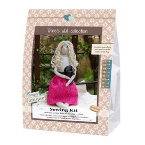 KIT DOLL FELT COLLECTION - BELLA - 45 CM