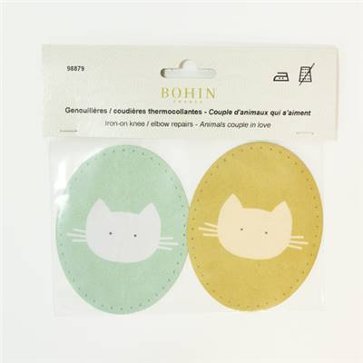 GENOUILLERES CHAT ORANGE - CHAT VERT -