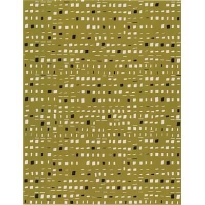 DASHWOOD STUDIO - NEW HORIZONS OLIVE- 100% COTON - mini 5m