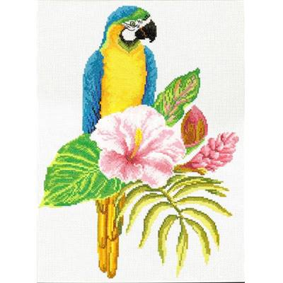NO COUNT CROSS STITCH - PERROQUET MACAW