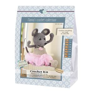 KIT CROCHET EMILY & FRIENDS COLLECTION - ELLA - 19 CM