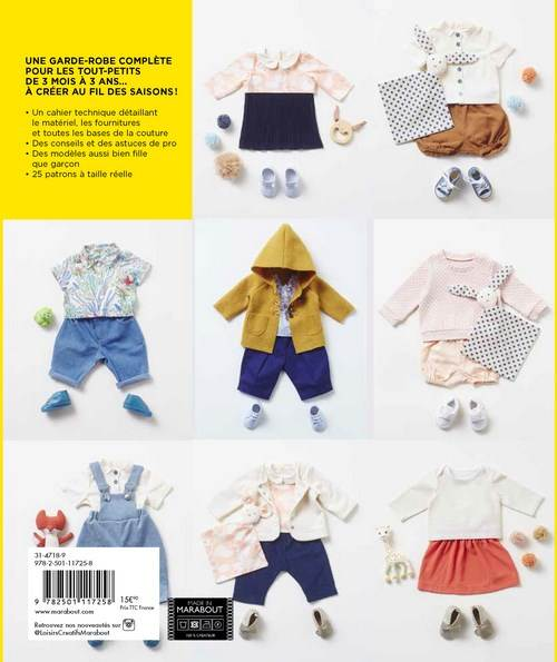Garde Robe Ideale Pour Bebe 3 Mois A 3 Ans