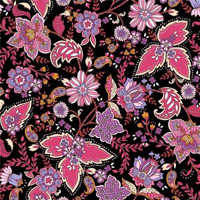 TISSU DASHWOOD STUDIO - ACE LAWN - 1683L PURPLE - COTON - 148 CM