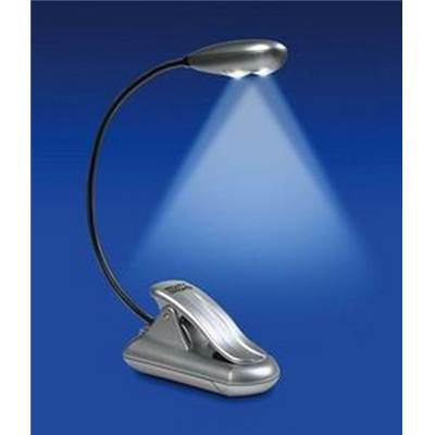 LAMPE FLEXIBLE SUPER LED ARGENT - 2 LEDS