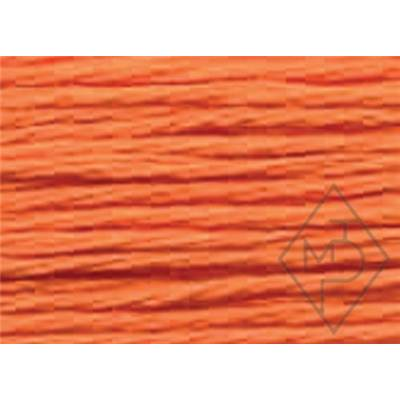 RETORS DU NORD A BRODER-COTON-COL.2405-ORANGE- X 5 CARTES DE 10M