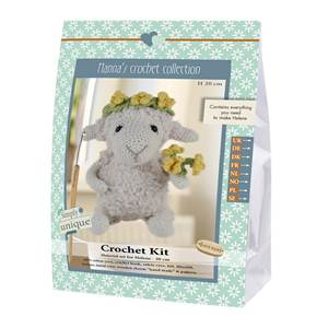 KIT CROCHET HELMUT & FRIENDS COLLECTION - HELENE - 20 CM