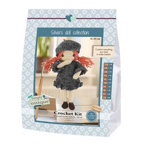 KIT SMALL GIRLS - CROCHET COLLECTION - IZABELA - 20 CM