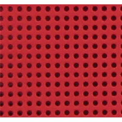 GRANDE FEUILLE CARTON PERFORE 24 X 35 CM ROUGE