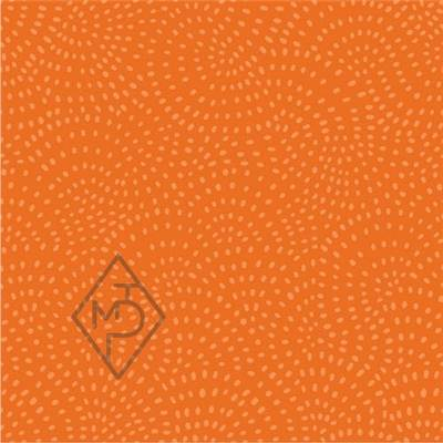 TISSU DASHWOOD STUDIO - TWIST PUMPKIN  - 100% COTON - minimum 5 m