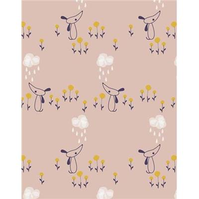 TISSU DASHWOOD STUDIO - AUTUMN RAIN 1274 - COTON - 110 CM