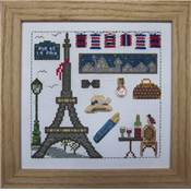 KIT CARTON PERFORE - J'AIME PARIS