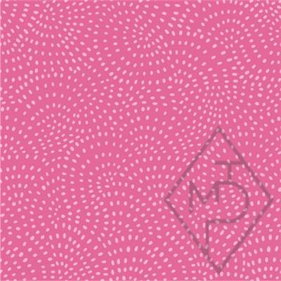 TISSU DASHWOOD STUDIO - TWIST ROSE  - 100% COTON - minimum 5 m