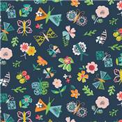 DASHWOOD STUDIO - CLUB TROPICANA 1252- 100% COTON - minimum 5m