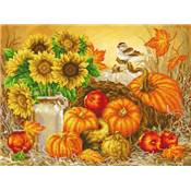 KIT BRODERIE DIAMANT - AUTUMN HARVEST