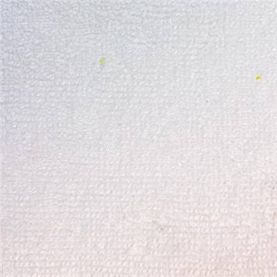 TISSU MICROEPONGE BAMBOU-POLYESTER-COTON  BLANC - 155 CM