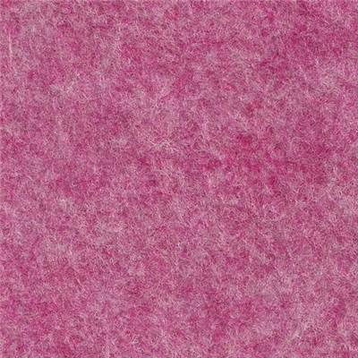 5 FEUILLES FEUTRINE 30 X 45 ROSE GIVRE 35% laine / 65% rayonne
