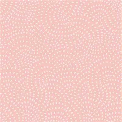 TISSU DASHWOOD STUDIO - TWIST BLUSH  - 100% COTON - mini 5 m
