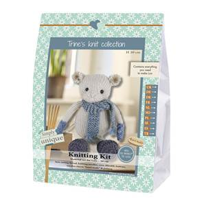 KIT LUKAS & FRIENDS COLLECTION - SOURIS LUIS - 20 CM