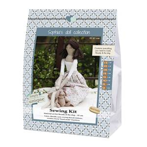 KIT DOLL FABRIC COLLECTION - ROSALY - 45 CM