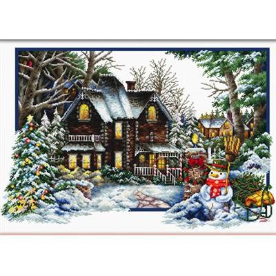 NO COUNT CROSS STITCH - L'ARRIVEE DE L'HIVER