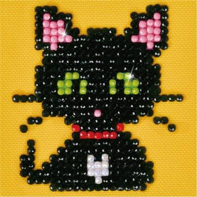 KIT BRODERIE DIAMANT - LE PETIT CHAT