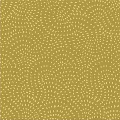 TISSU DASHWOOD STUDIO - TWIST OLIVE  - 100% COTON - mini 5 m