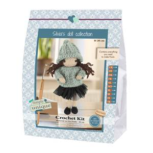 KIT SMALL GIRLS - CROCHET COLLECTION - PAULA - 20 CM