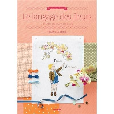 Le langage des fleurs a broder au point de croix - Langage des fleurs iris ...