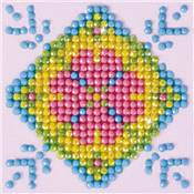 KIT BRODERIE DIAMANT - MANDALA PATCHWORK 2