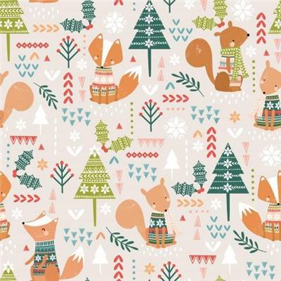 TISSU DASHWOOD -CHRISTMAS PARTY 1523 - COTON - 110 CM - mini 5 m
