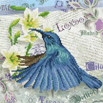 KIT BRODERIE DIAMANT - HUMMINGBIRD TRAVELS