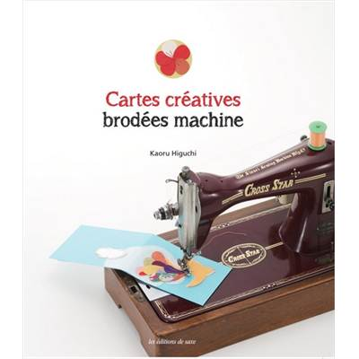 CARTES CREATIVES BRODEES MACHINE
