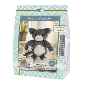 KIT LUKAS & FRIENDS COLLECTION -CHAT & SOURIS SIMON 20CM & MATS 4.5CM