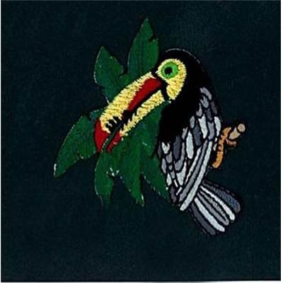 MOTIFS THERMOCOLLANTS - TOUCAN - LE LOT DE 3
