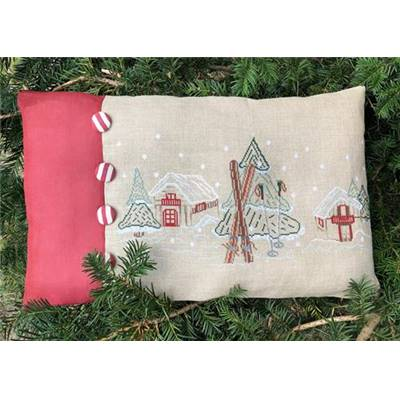 KIT COUSSIN NEIGE - DIMENSIONS FINIES 50 x 35 cm environ