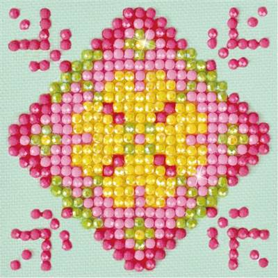 KIT BRODERIE DIAMANT - MANDALA PATCHWORK 1