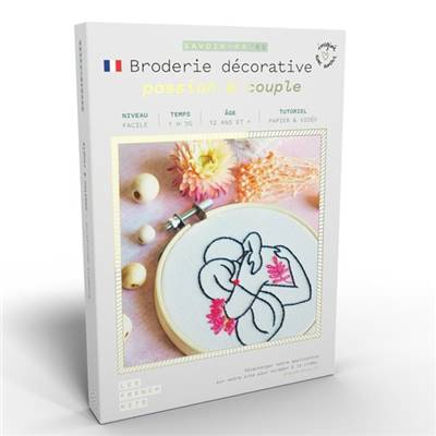 FRENCH KITS - BRODERIE DÉCORATIVE - PASSION & COUPLE